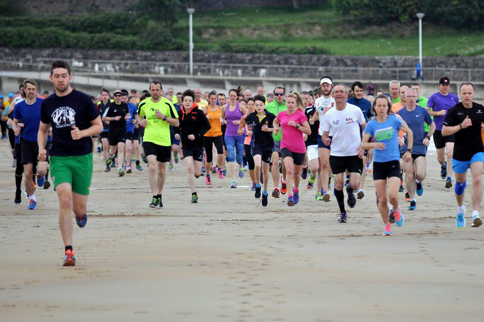 Portrush Parkrun (Photo Richard McLaughlin)