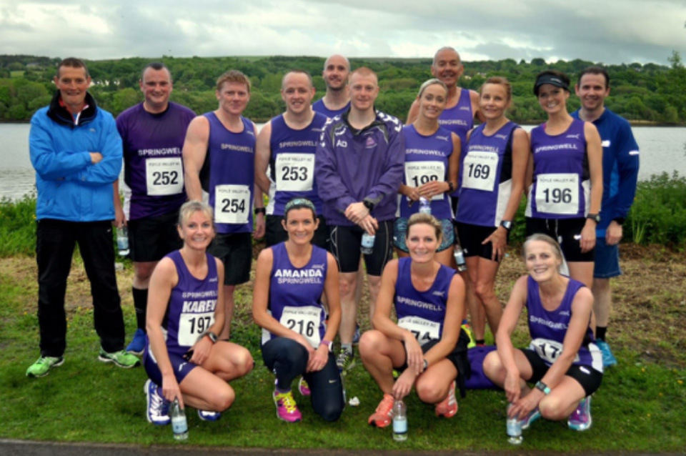 Springwell RC at the Foyle Valley AC 5M (Photo Richard McLaughlin)