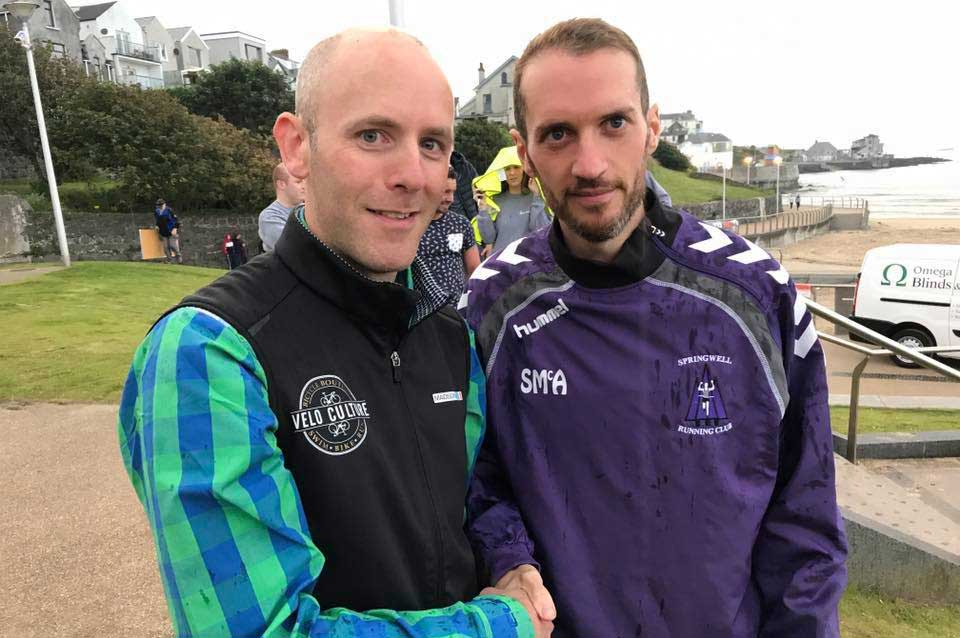 Springwell RC's Steven McAlary – winner of the North Coast 10k