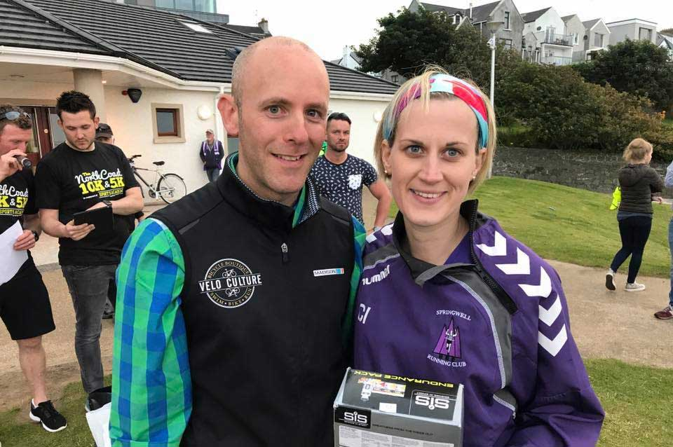 Springwell RC's Caroline Irwin – Winner of the North Coast 5k