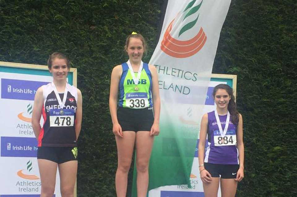 Springwell RC's Niamh Carr with third place at the Irish Championships