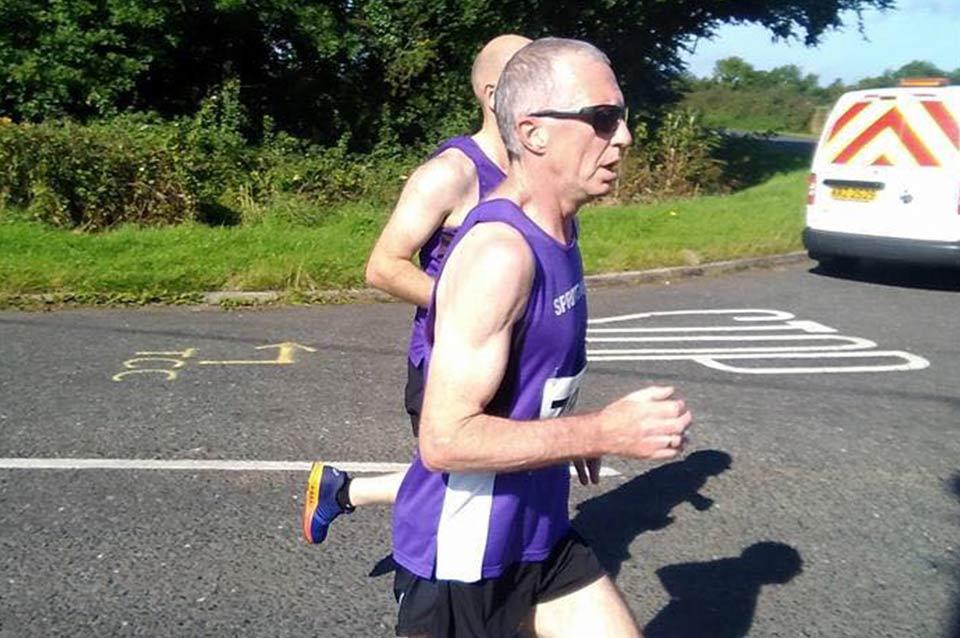 Springwell RC's Bryan Edgar at the Rasharkin Runners 'Run for the Hills'