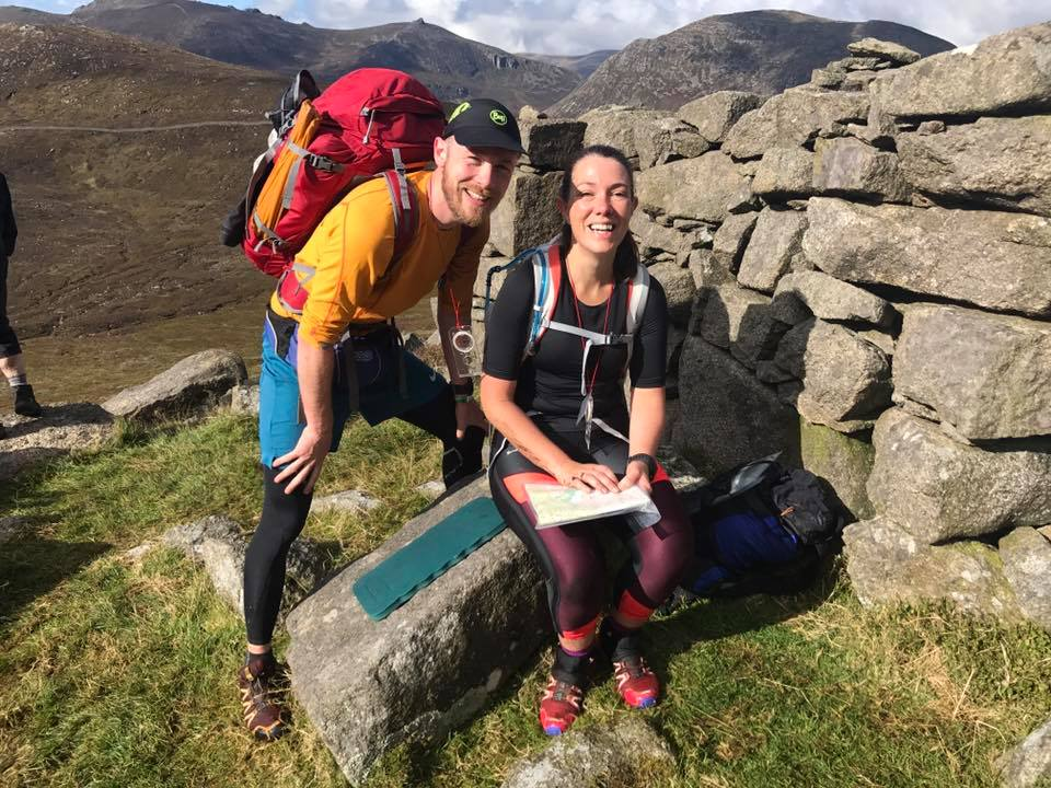 Springwell RC's 'Team Millar' – Chris and Julie-Ann in the Mourne Mountain Marathon
