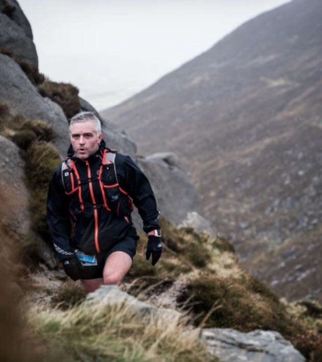 Springwell RC's Ross Armstrong in the Garmin Mourne Skyline MTR