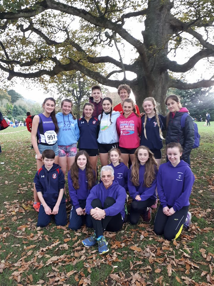 Springwell RC at the Bobby Rea Memorial Cross Country, Rostrevor