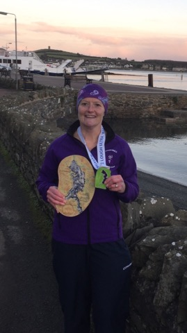 Springwell RC's Helena Dornan – 1st Lady to Loop the Lough 2017