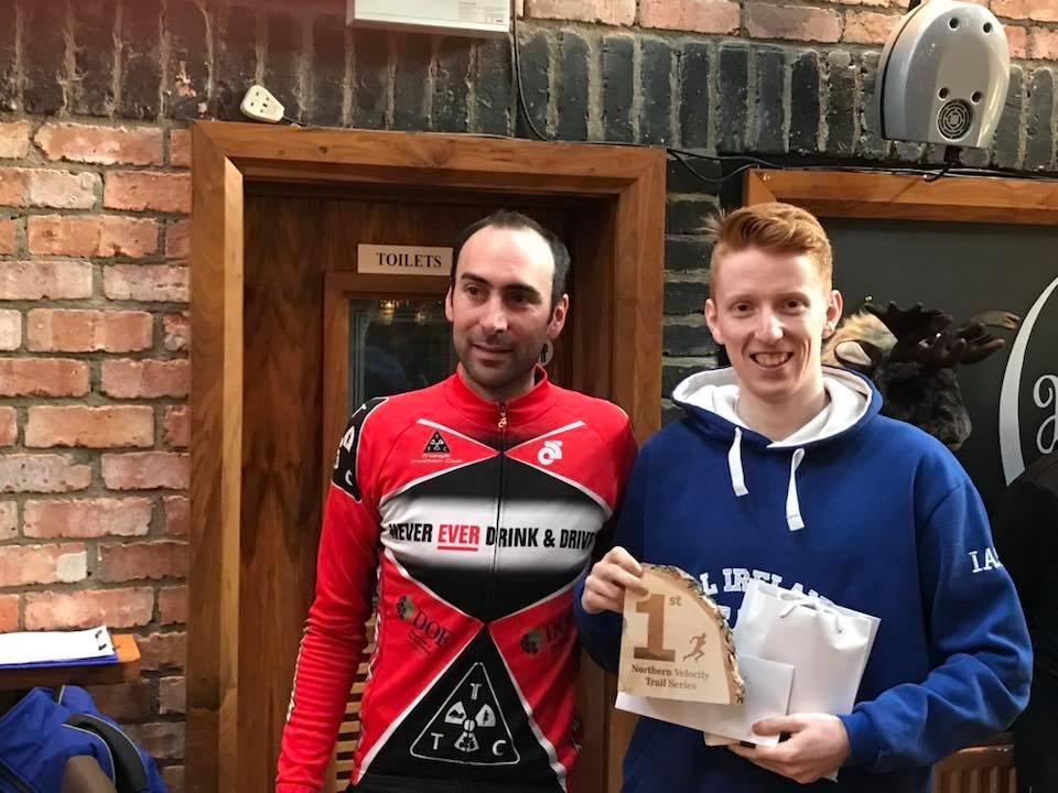 Springwell RC's Luke Dinsmore – winner of the Northern Velocity Trail Race