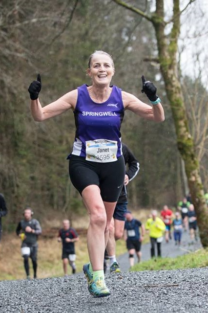 Springwell RC's Janet Patrick - Photo courtesy of Born 2 Run