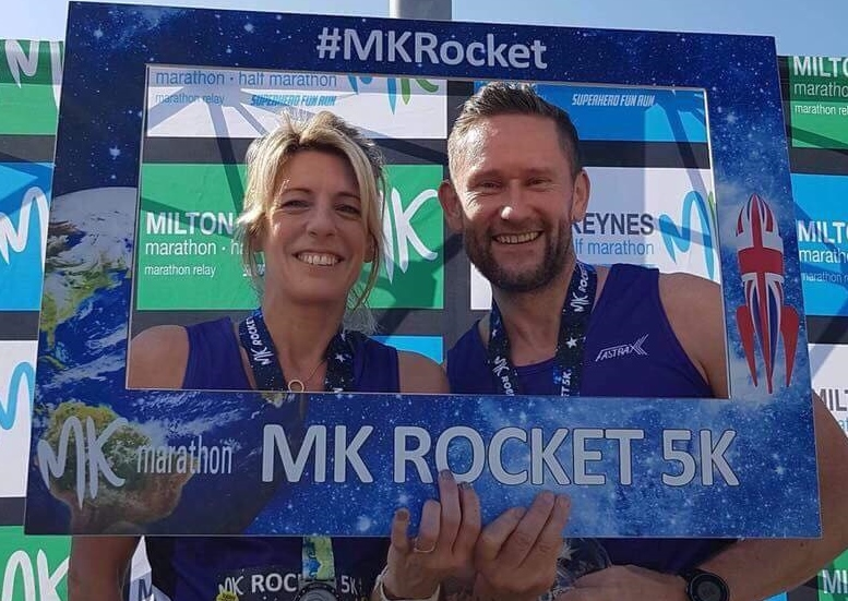 Springwell RC's Catherine Bell – Allen and Dave King at the Milton Keynes Weekend of Running