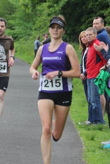 Ciara Toner win's the Wilkies Classic 5 Mile Road Race (Photo – FVAC)