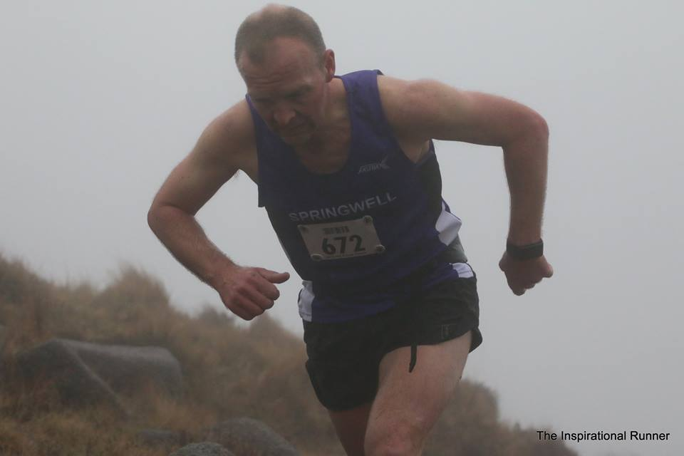 Springwell RC's Alex Brennan on Slieve Binnian (Photo – Robbie Marsh)