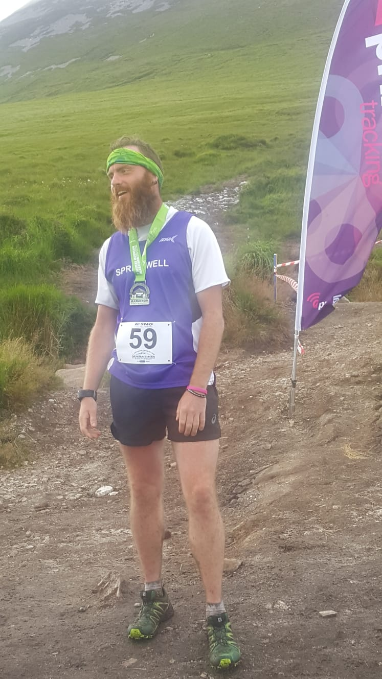 Springwells Ali Shaw – Still standing after 92 miles in 3 days