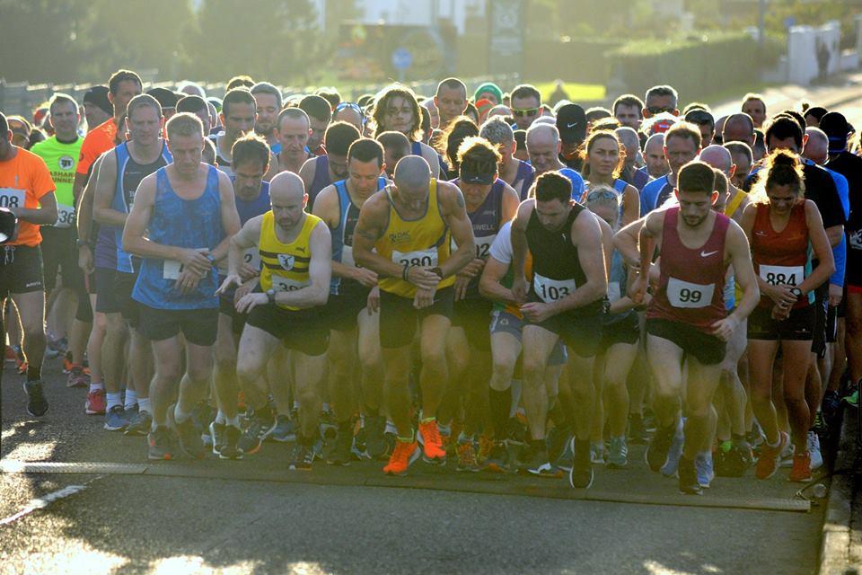 Start of the Portrush 5 Mile Road Race (Photo Richard McLaughlin)