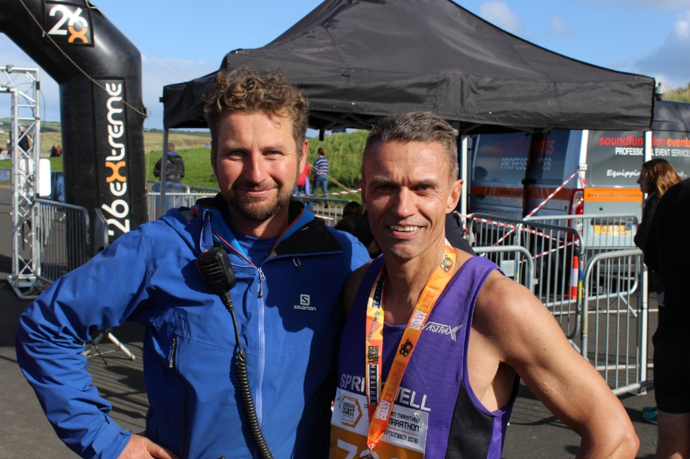 26 Extremes Ian Cumming with Springwell RC's David Jackson