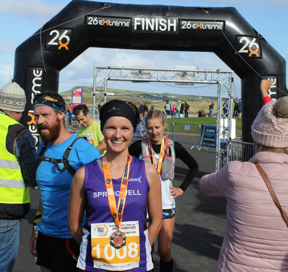 Springwell RC's Ciara Toner – Winner of the CCM Half Marathon