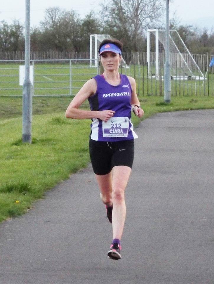 Springwell RC's Marathon Record Holder Ciara Toner