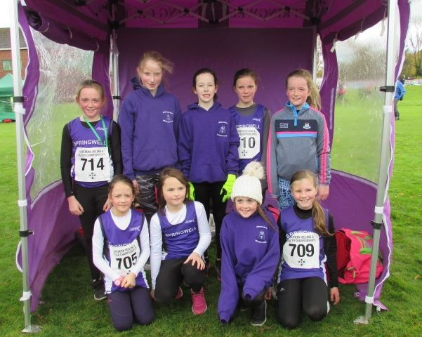 Springwell Juniors at the NI & Ulster Even Age Group Championships