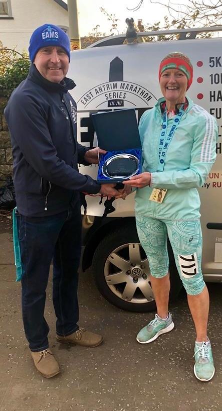 Springwell RC's Helena Dornan – winner of the EAMs Back 2 Back