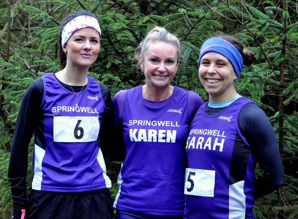 Carolyn Crawford, Karen McLaughlin and Sarah Dickinson (Photo Richard McLaughlin)