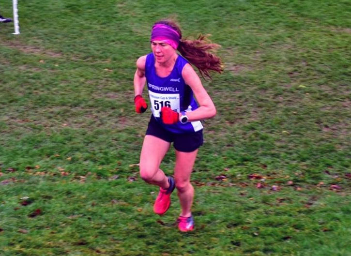 America Aznar at the Mathieson Cup XC.
