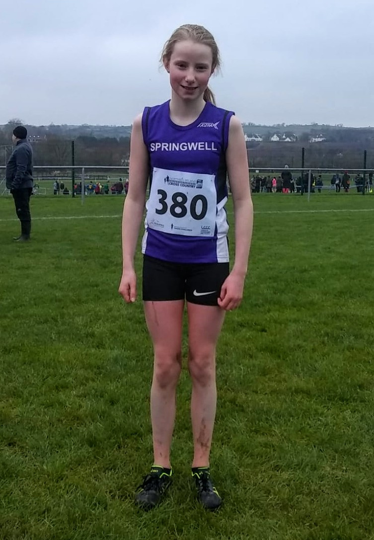 Maira Clements at the IAAF XC Championships