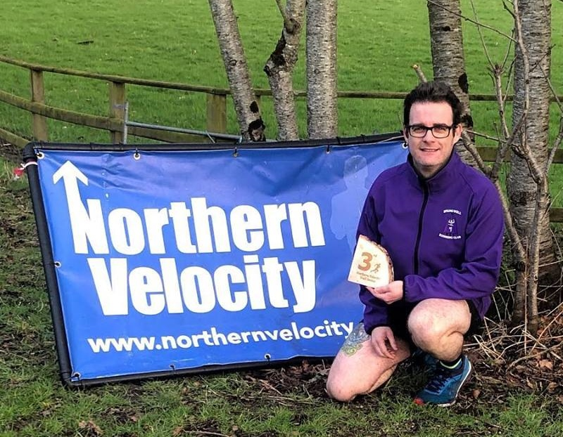 Darren Walsh (Springwell RC) 3rd in the Roe Valley 5 Mile Trail Race