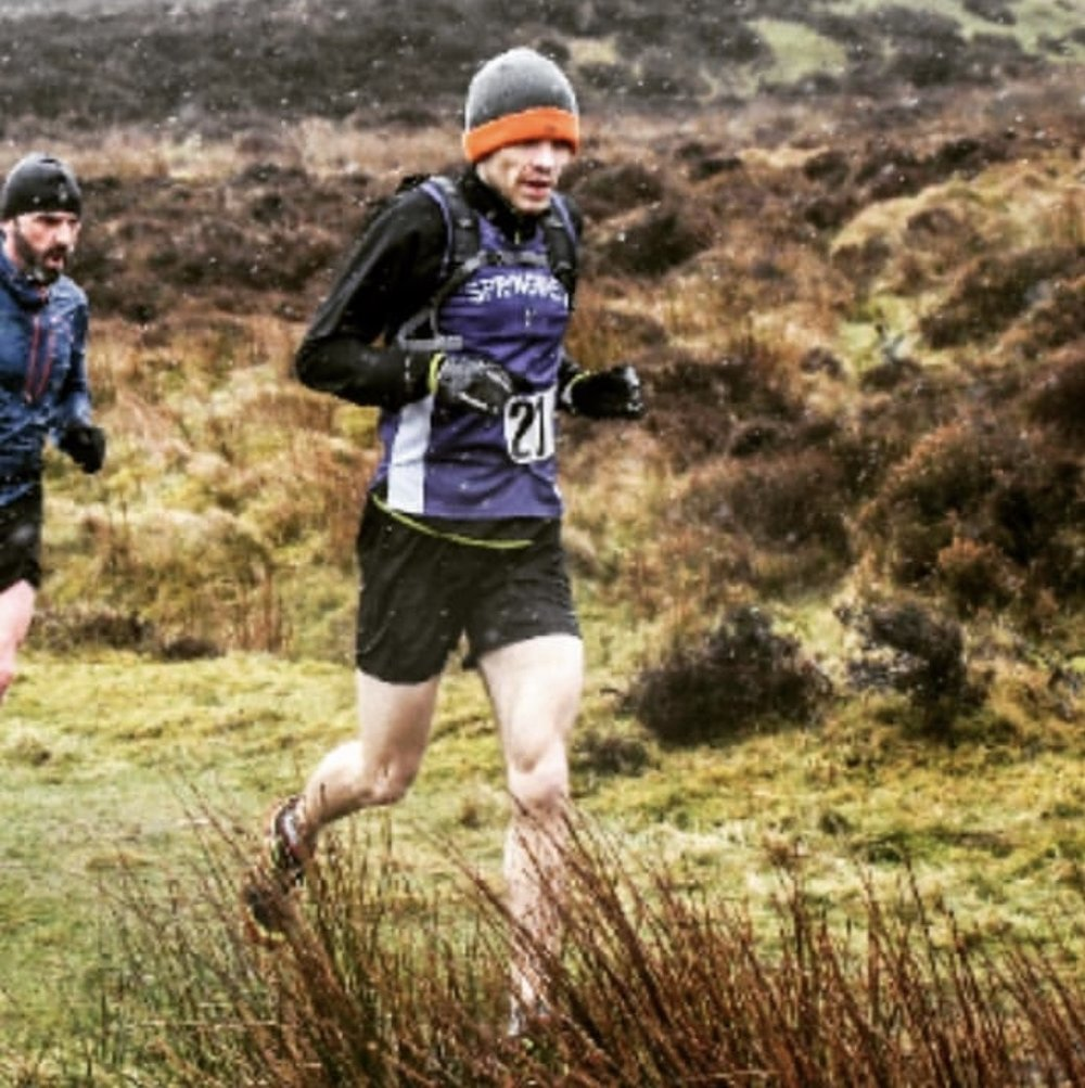 Ryan Galway take on the wintry conditions on Slieve Gullion
