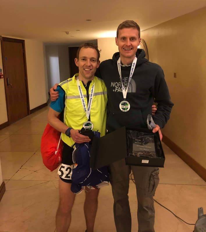 Ed Melbourne and Peter Cromie Photo – Atlas Running