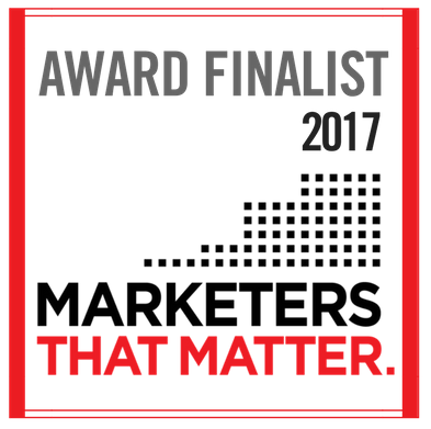 2017 Finalist - Recognized as one of the top marketers driving innovation in 2017.