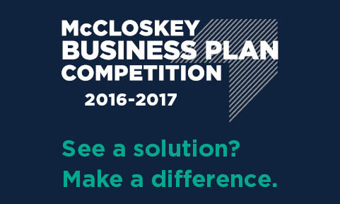 The McCloskey Business Plan Competition is an annual event hosted at the University of Notre Dame. Business teams, that have at least one current Notre Dame student, compete through written business plans and ultimately live pitches to judges in the Notre Dame community. Many of these companies go on to raise additional funding through the Notre Dame community and beyond.  Wray participate as a judge and a mentor to teams coming through the competition.