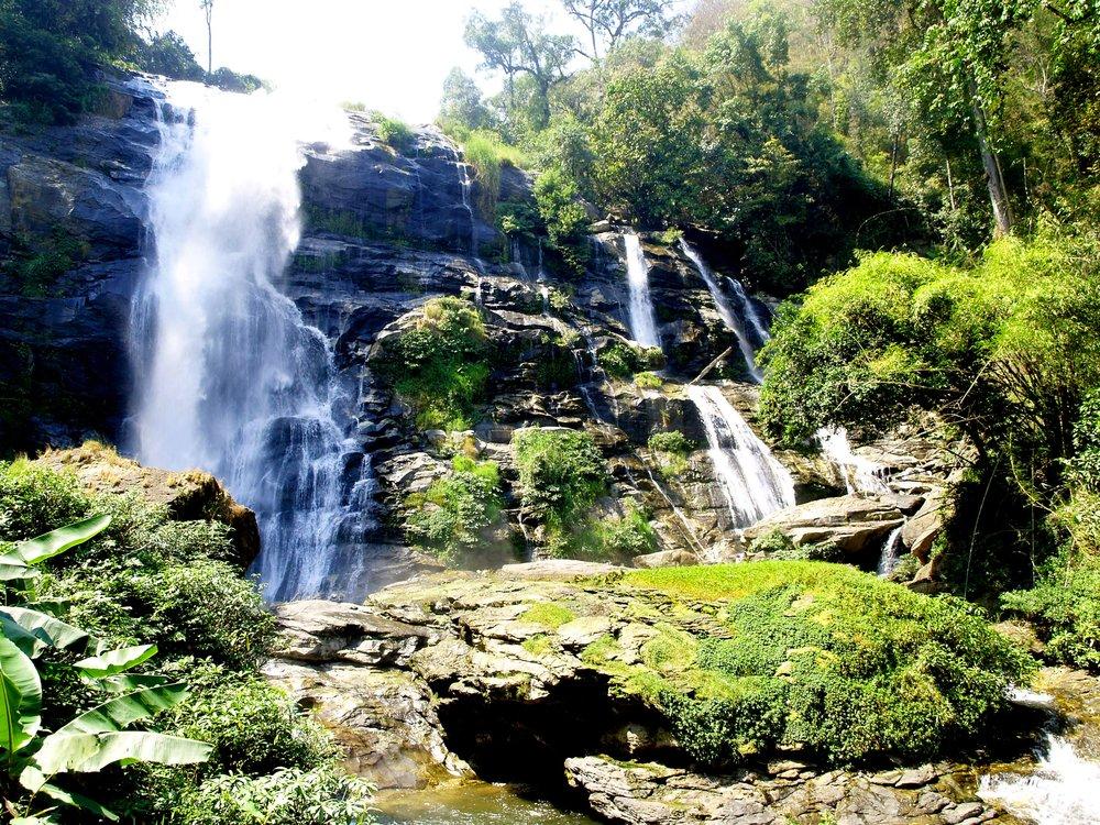 Waterfalls at Doi Inthanon Park