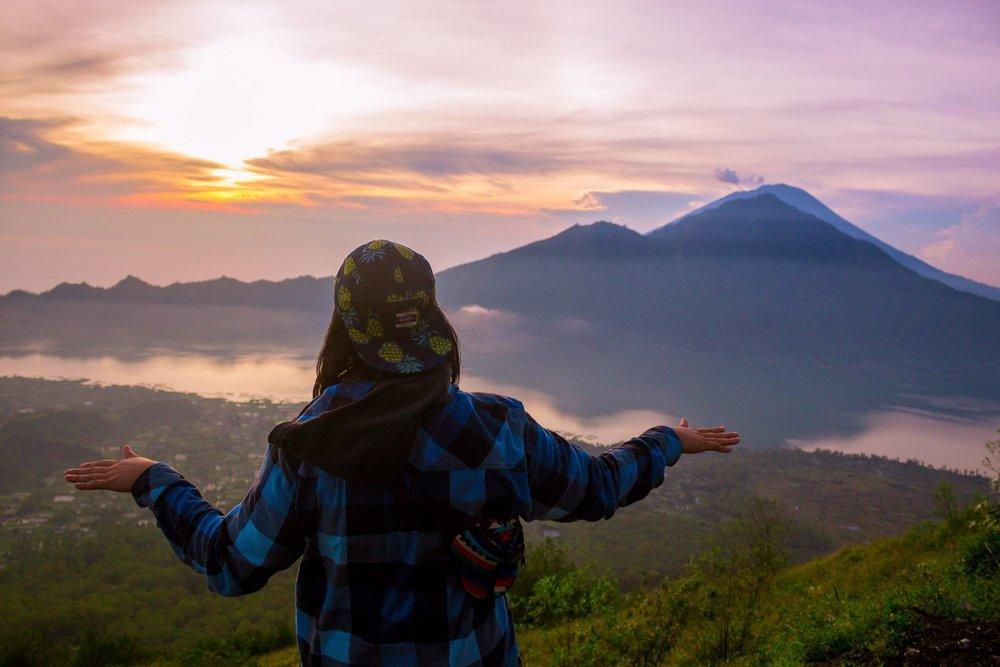 Hiking Mt. Batur 2018
