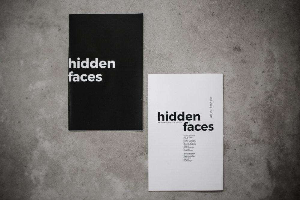 Hidden Faces Booklet