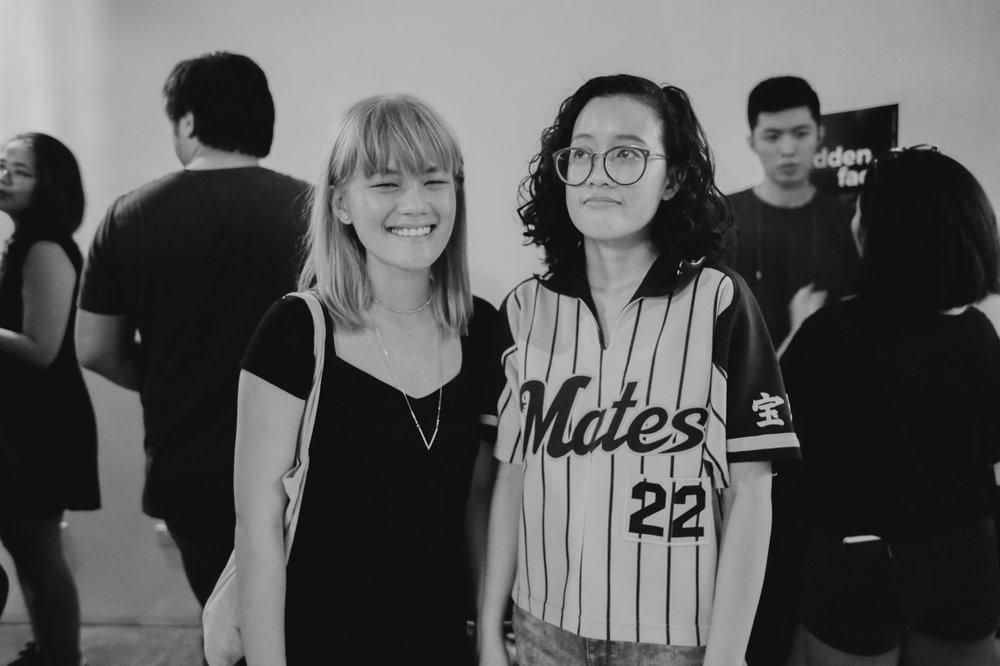 Charissa Soriano & Pauline Disuanco