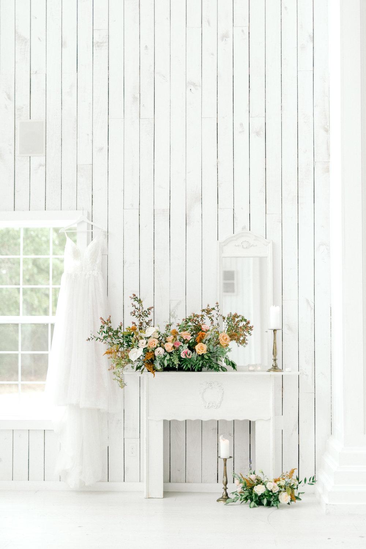 Fine Art White Barn Wedding | Ballet Inspired Wedding