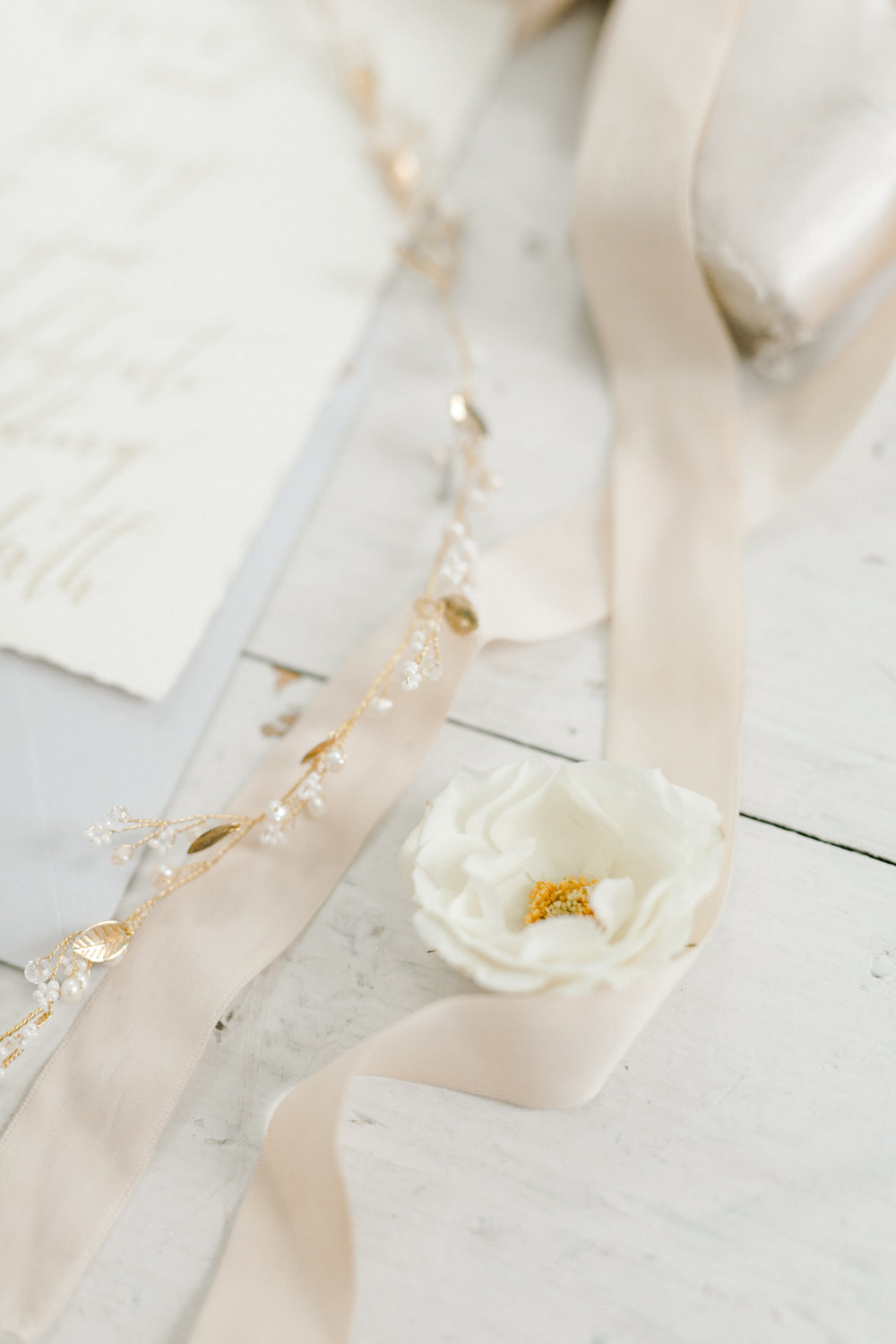 Wedding Detail Photography | Ballet Inspired Rustic white Barn Wedding