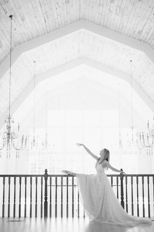 Ballet Inspired White Barn Wedding | Quinlan Texas