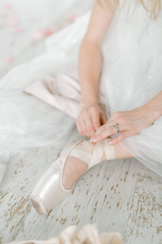 Ballet Inspired White Barn Wedding | Fall Rustic Wedding Reception