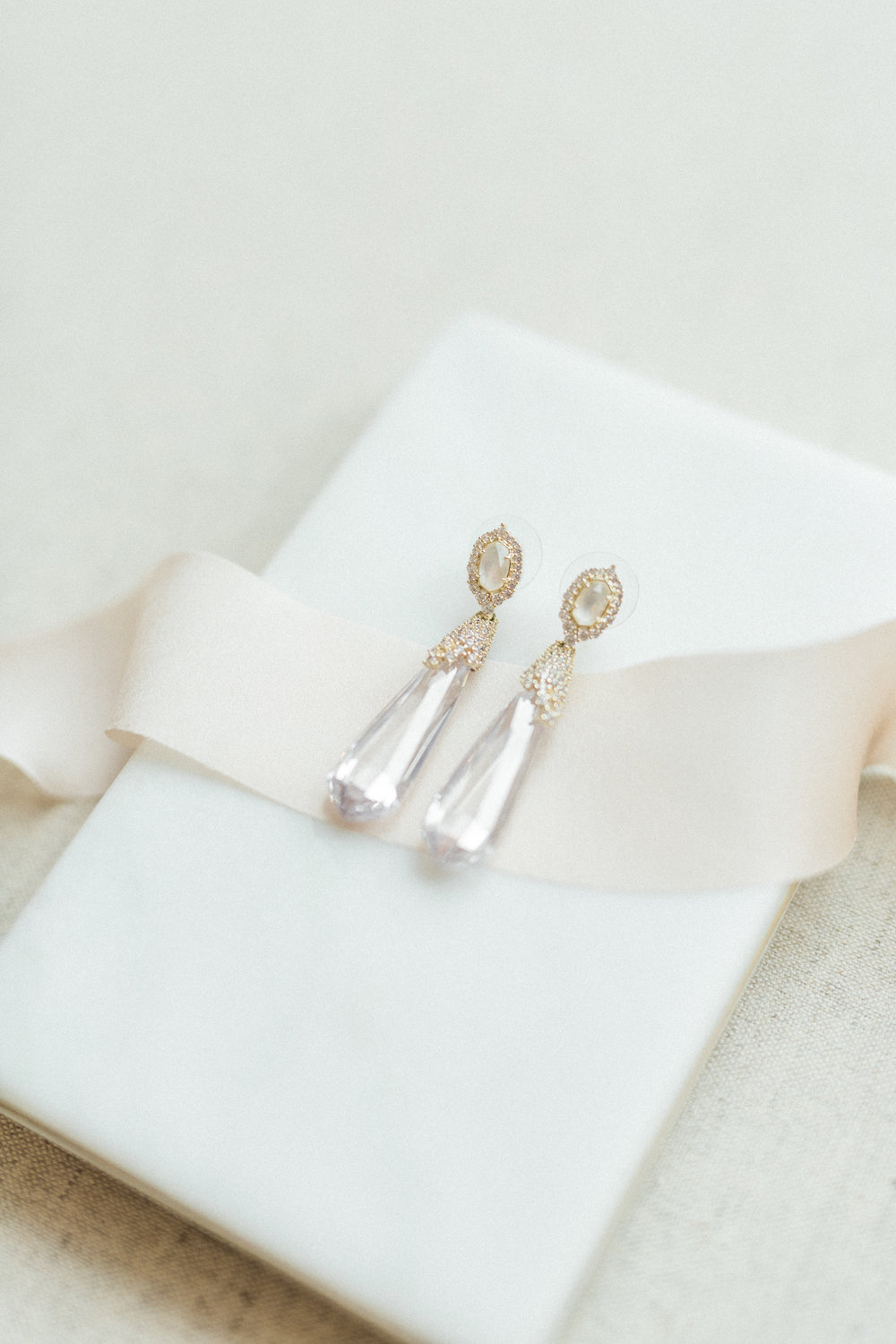 Wedding Day Jewelry Earrings from Kendra Scott | Fine Art European Inspired Wedding