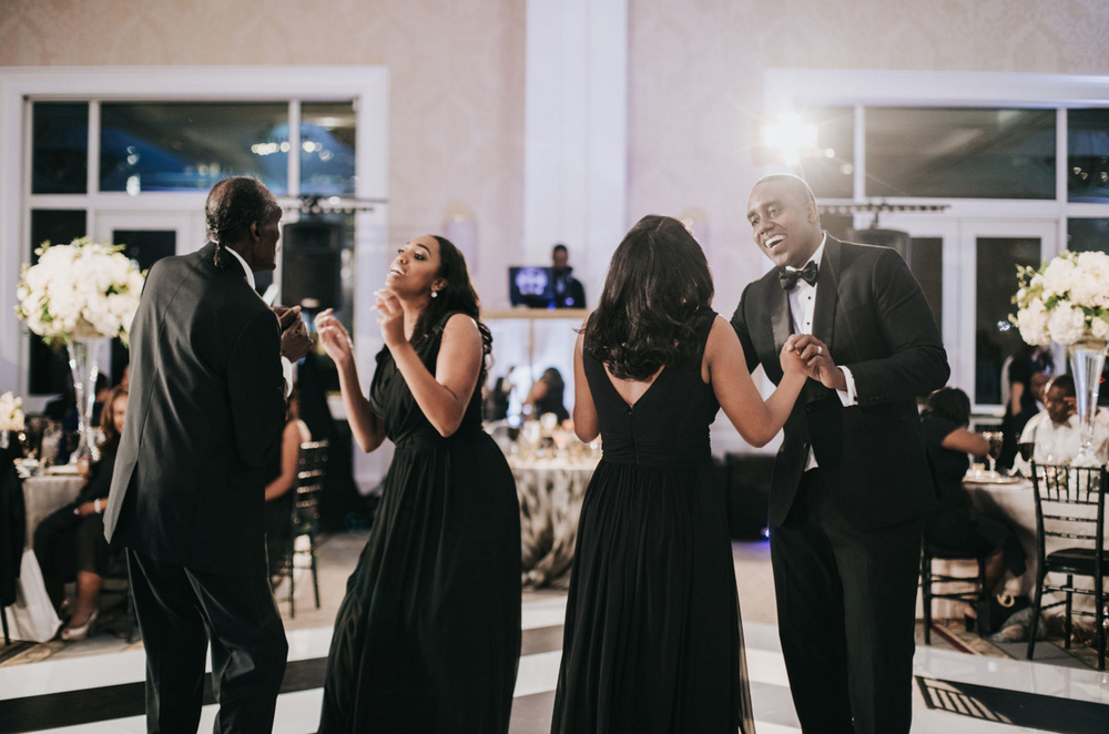 Modern Luxe Dallas Wedding Reception