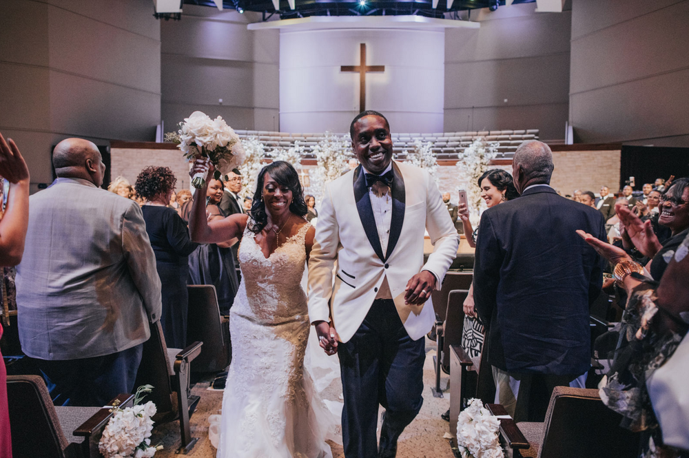 Modern Luxe Dallas Wedding | Dallas Wedding Planning