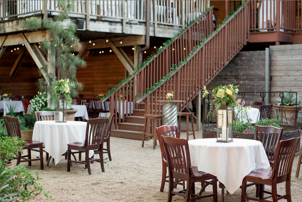 rustic outdoor texas rehearsal dinner