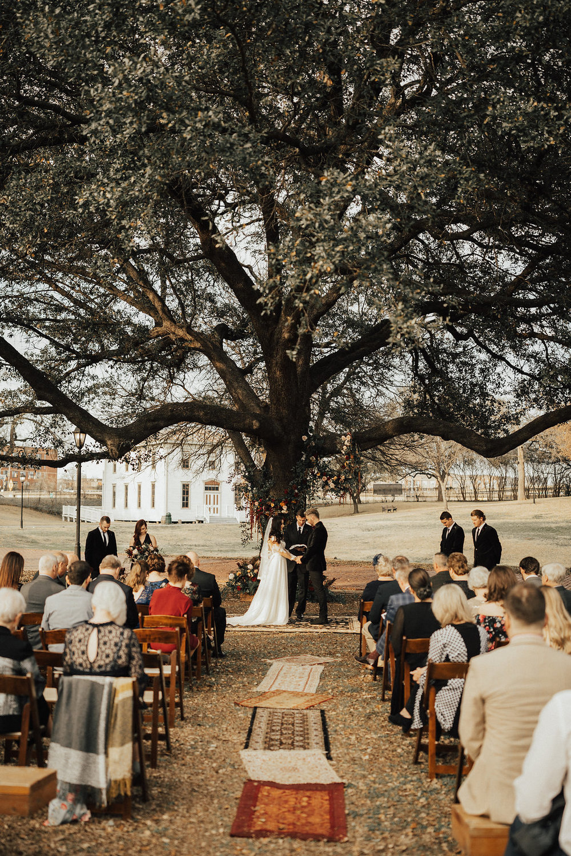 Vintage Western Spring Wedding in Dallas