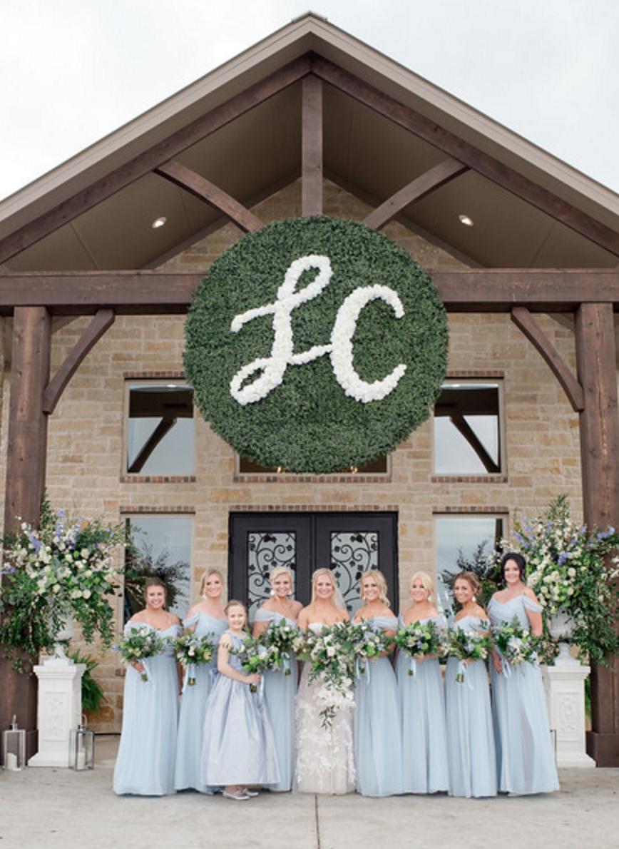 Fort Worth Spring Vineyard Wedding