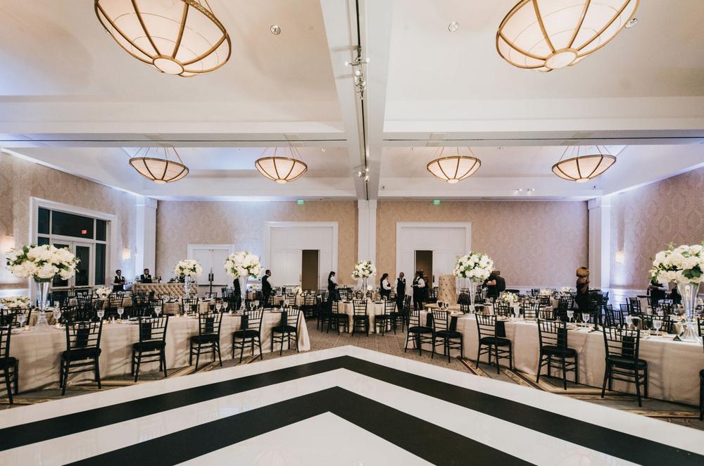 Modern Glam Dallas Ballroom Wedding
