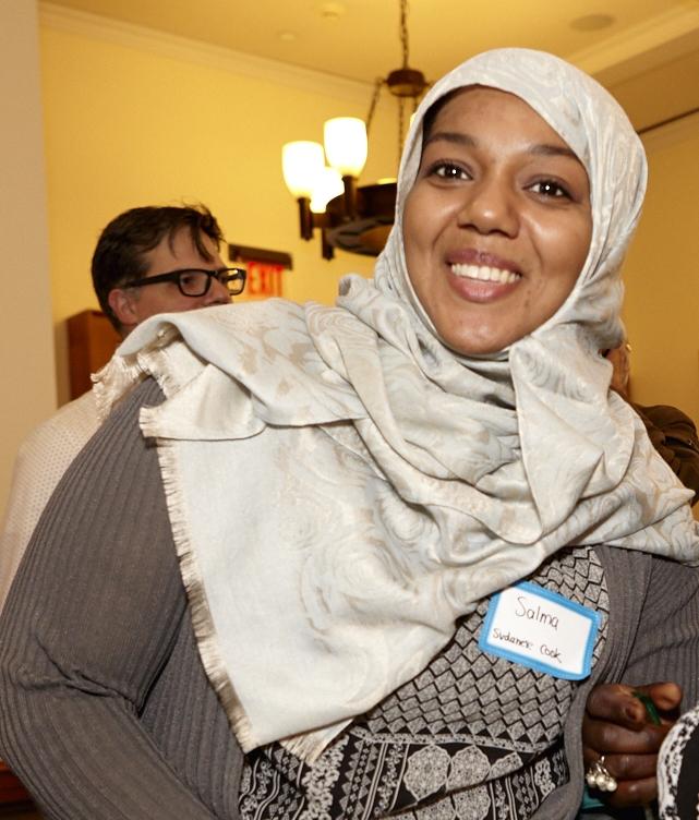 Salma from Sudan