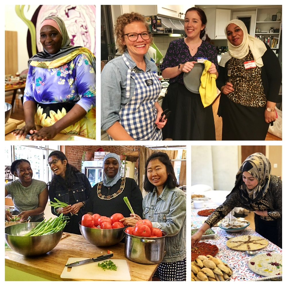 Your support makes this work possible. - When you give to Sanctuary Kitchen, you support refugee and immigrants chefs in sharing their food and culture, starting food businesses, learning new culinary skills, and integrating into their new communities. Please join us in this work!