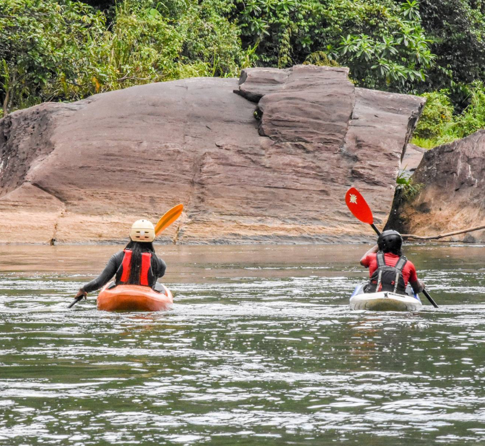Kayaking in Kithulgala