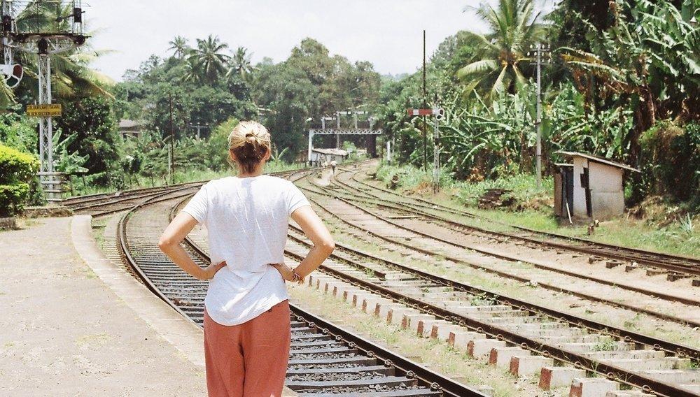 Wilderness Journeys Sri Lanka train station