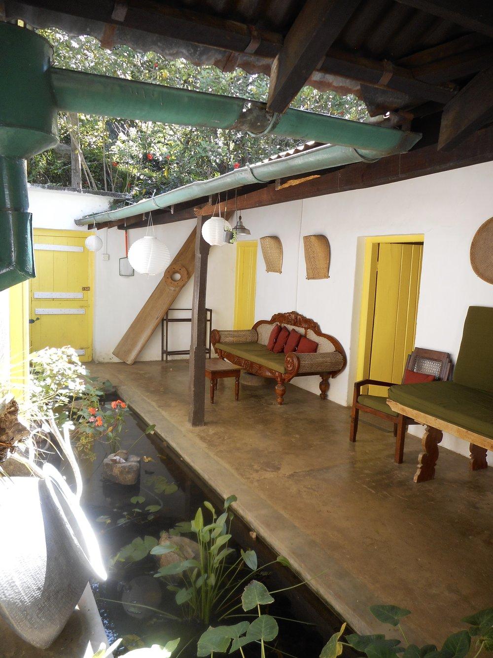 Yoga retreat Sri Lanka, the venue at Amba Estate